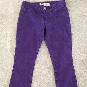 l.e.i. - Ashley low rise skinny Jeans - Purple